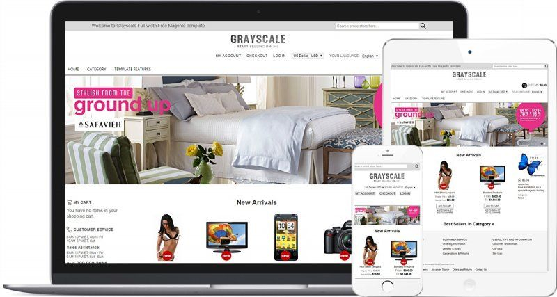 Grayscale Full-width Free Magento Template.jpg